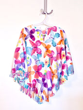 Butterfly Big Kid Poncho