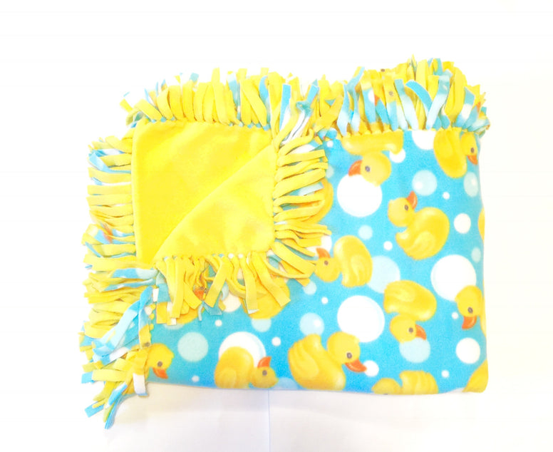 Rubber Duck Small Blanket