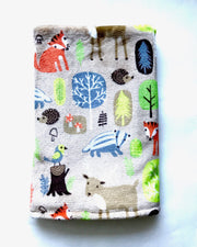 Forest Animals Stroller Blanket