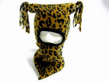 Leopard Baby / Toddler Hood Hat