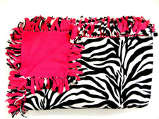 Zebra Large Blanket