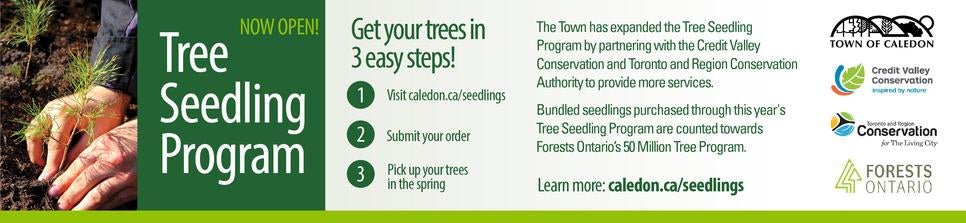 Town of Caledon tree seedling program
