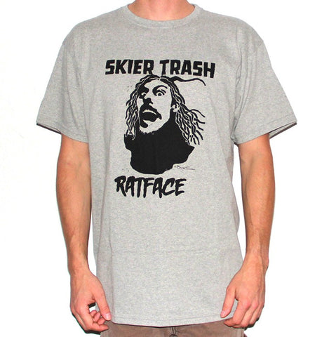 Ratface Tee - Heather/Black
