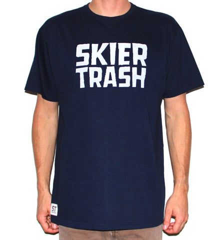 The Standard Tee - Navy/White