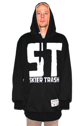 ST Hoodie - Black/White vs. Work Tan/Black