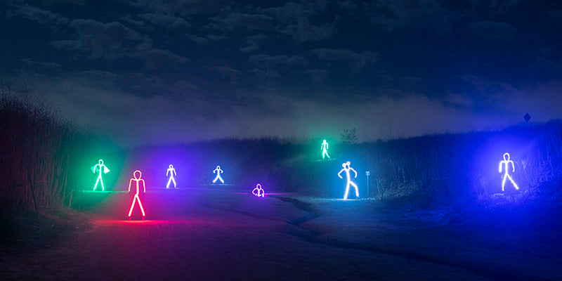 LED LIGHT-UP STICK MAN COSTUMES