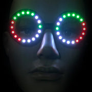 Luminoid Digital LED Pixel Glasses w/ Powerbank