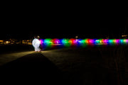 LumiBlob RGB light-up inflatable suit