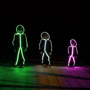 Kid's LED lightup stick figure stickman