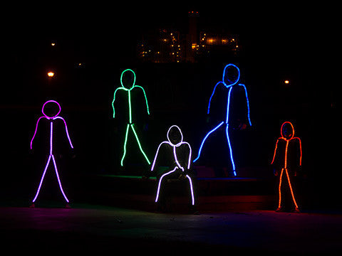 LED stickman light kit