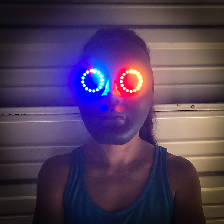 Luminoid Digital LED Pixel Mask