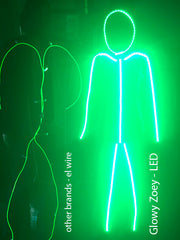 Adult LED stickman costume
