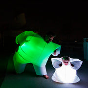 Lumiblob lightup inflatable suit