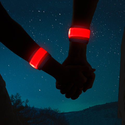 Light-up LED Slap Bracelet