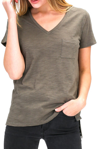 Plus- Short Sleeve Pocket T