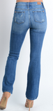 Medium Blue Mid Rise Boot Cut