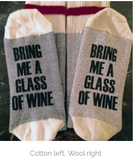 Wine and Beer Socks