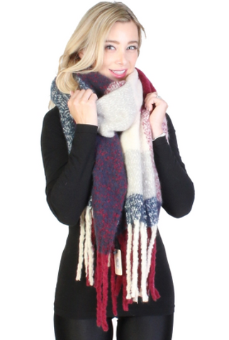 LaLa Plaid Scarf