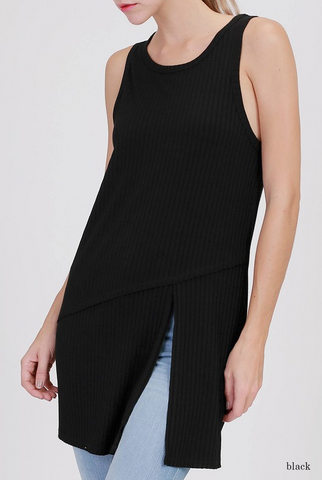 Tessa Ribbed Knit Tank