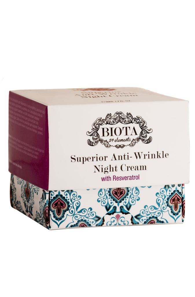 Superior Anti-Wrinkle Night Cream