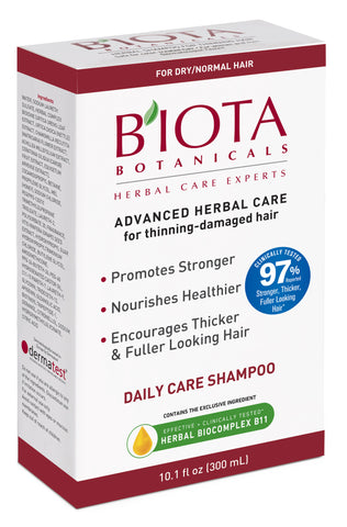 Advanced Herbal Care Shampoo for Thinning - Damaged Hair