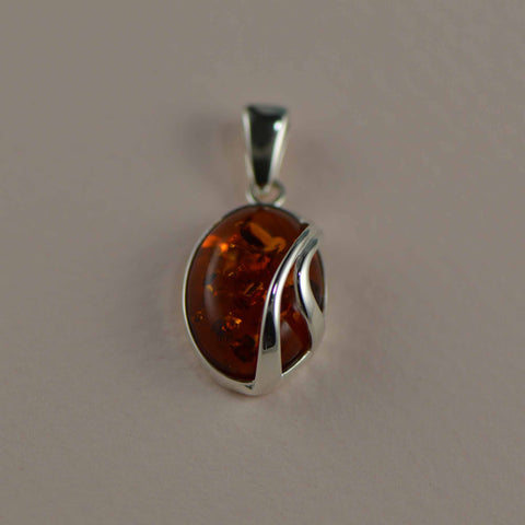 oval two lines pendant