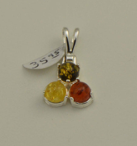 circles tricolor amber