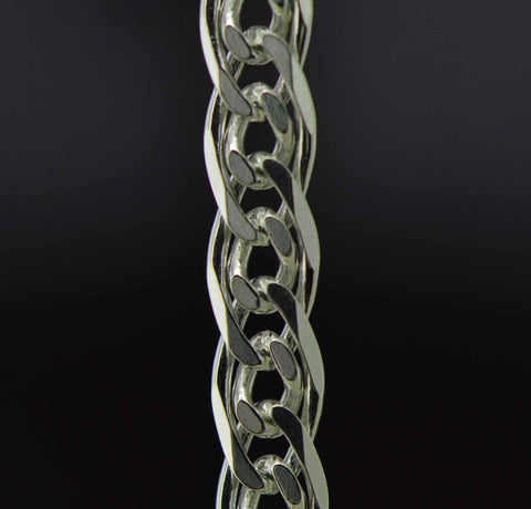 sterling silver nona jewelry chain 5 mm. fine detail