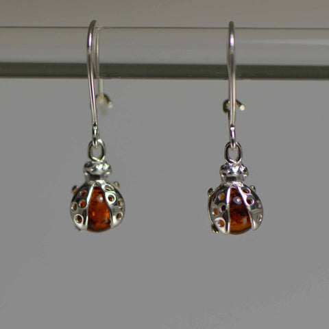 ladybug small earrings