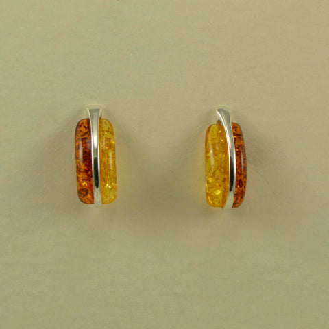 coma yellow brown earrings