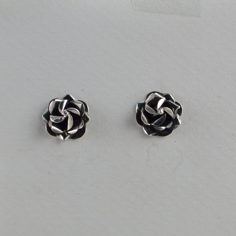 rose earrings small