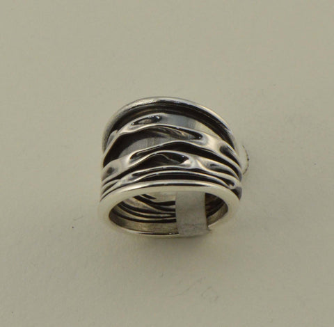 corrugated graduated ring