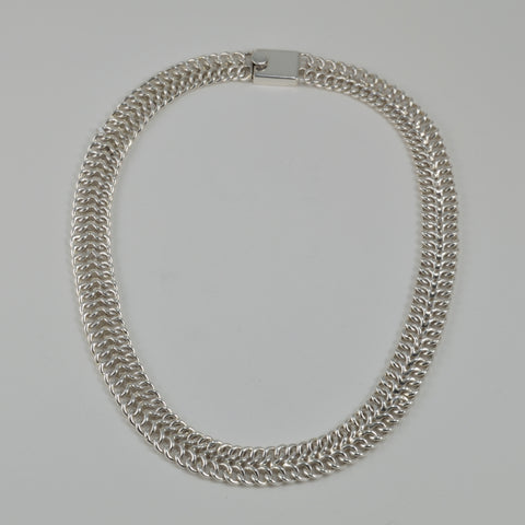 double curb necklace
