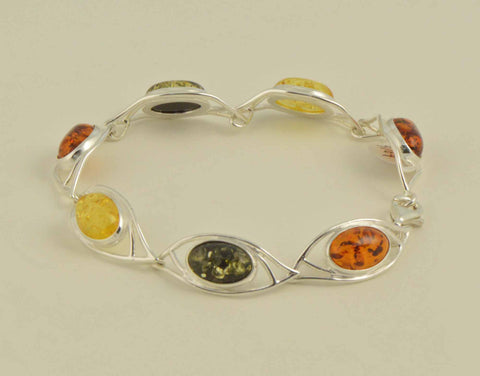 eye wire frame amber