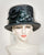 03854TPPL Top Hat, Paglina braid & horsehair braid, charcoal