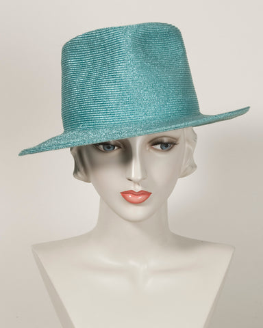 03897WNMB Wayne Metallic braid Light turquoise