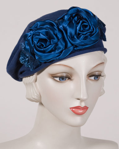 0515SBC Small Beret, navy