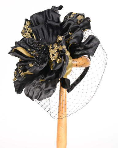 0634WY Whimsy, black/gold