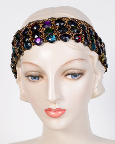 0792HB Headband, jewel tones