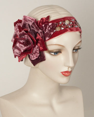 1139HB Headband, old rose