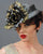 1288DHPS DOLL HAT, PARISISAL, GUNMETAL W/ ANTIQUE GOLD