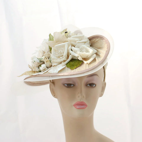 ZP3143FS Special Fascinator, natural