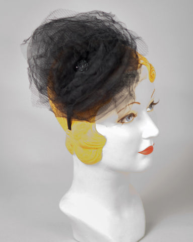 3170FS Fascinator, black