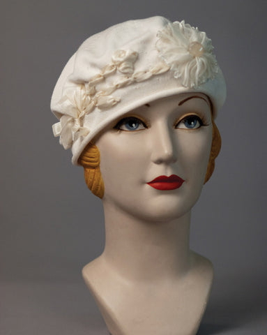 3206SBC Small Cotton Beret, natural