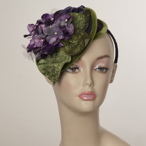 5130WYPL Whimsy, purple w/ olive