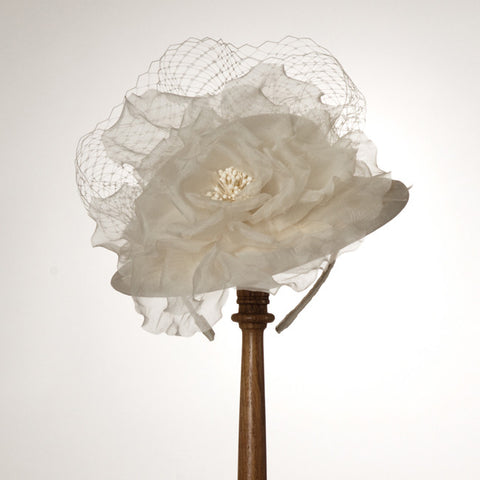5233DHSI Doll Hat, ivory