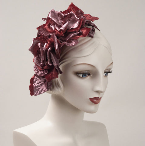 6252WY Whimsy, raspberry/dusty rose