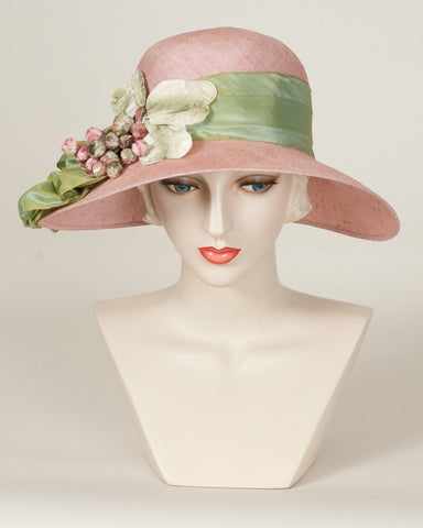 9319HLSI Helena, raspberry with pale green