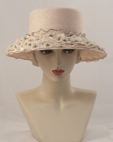 0944JESI Jamie, sisal, pale pink with tea