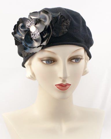 0951SBC Small Beret, black